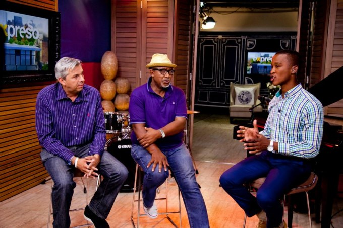"""EXPRESSO interviews Martin Myers and Sipho """"Hotstix"""" Mabuse about MUSIC EXCHANGE 2013"""