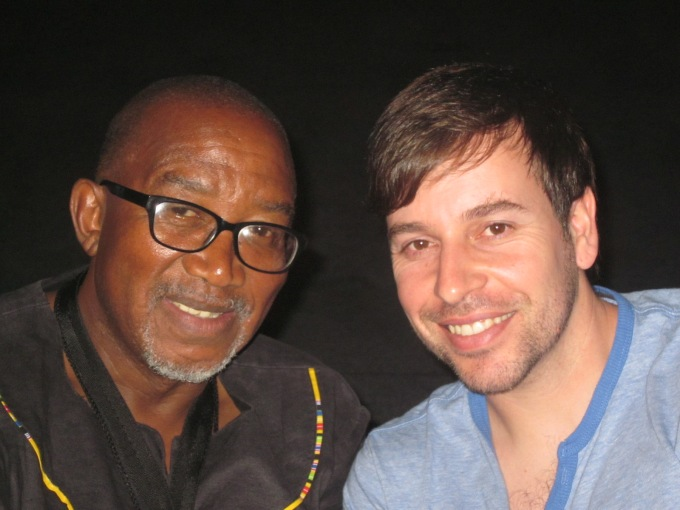 Sipho Hotstix Mabuse and RJ Benjamin