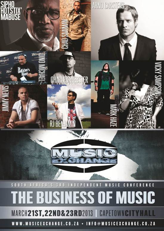 Music Exchange – South Africa's 3rd independent music Conference | 21-23 March 2013