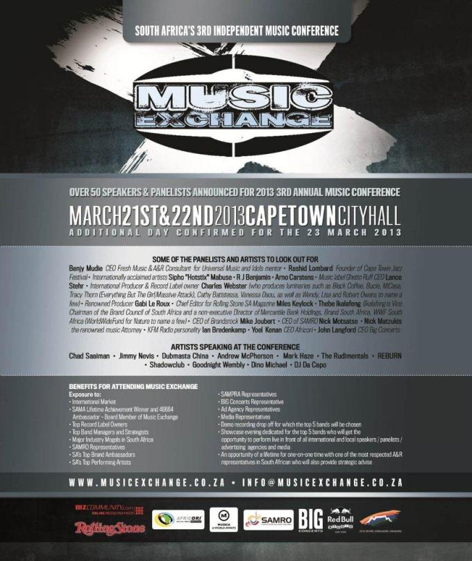 Music Exchange Adverts - March 2013